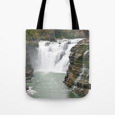 Letchworth Upper Falls Tote Bag