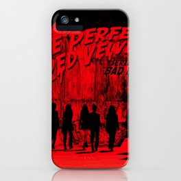 "The Perfect Red Velvet ""Bad Boy"" iPhone Case"