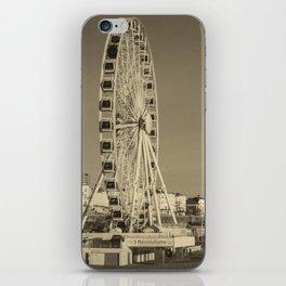 Ferris Wheel at Brighton, UK iPhone Skin
