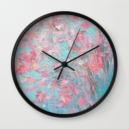 Appleblossoms Wall Clock
