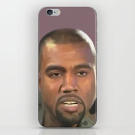 Mr. West iPhone Skin