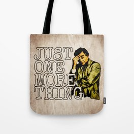 Columbo. Tote Bag