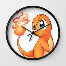 Hot Stuff! Wall Clock