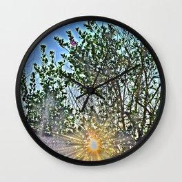 Pure Morning II Wall Clock