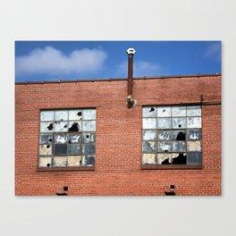 Broken Squares Canvas Print