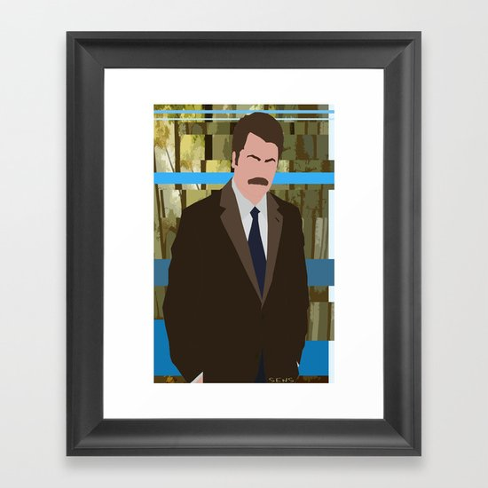The Swanson Framed Art Print