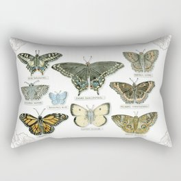 Butterflies and Branches Rectangular Pillow