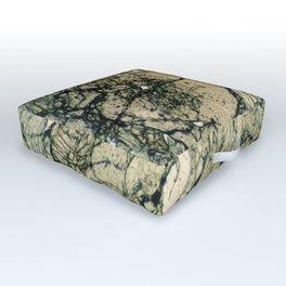 Garnet Crystals Outdoor Floor Cushion