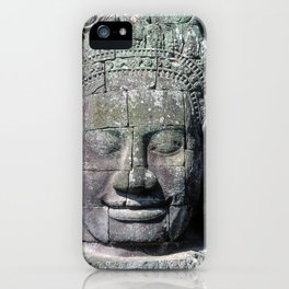 Bayon Temple in Angkor Wat iPhone Case