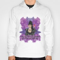 ouat Hoodies featuring OUAT - Something Evil This Way Comes by Daniel Bevis