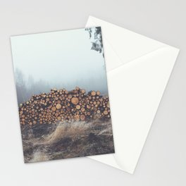 Wood Mountain Stationery Cards