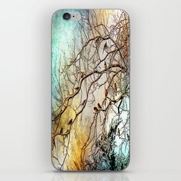 Out On A Limb Jewel Tones iPhone Skin