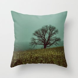 GHOST IN THE EMPTY V2 Throw Pillow