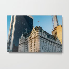 The Plaza Hotel on Fifth Avenue New York City Metal Print
