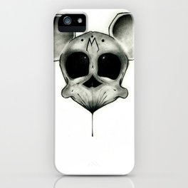 MICKEY DEATH MOUSE iPhone Case