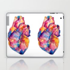 Heart Is On Fire Laptop & iPad Skin