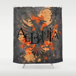 albania  Shower Curtain