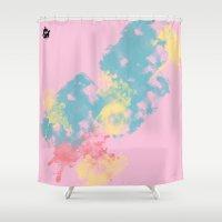 romance Shower Curtains featuring Romance by Diretório do Design