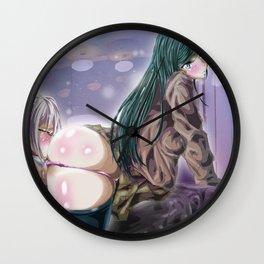 U R What U Eat Wall Clock