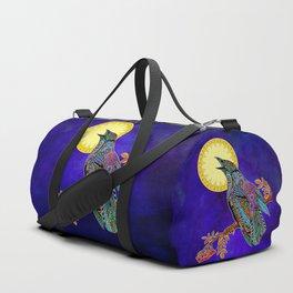 Electric Crow Duffle Bag
