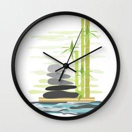 Feng shui meditation Wall Clock