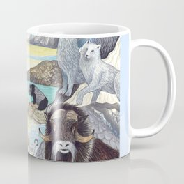 Arctic Tundra Animals Coffee Mug