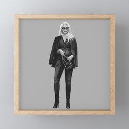 Felicia Hardy fashion sketch Framed Mini Art Print