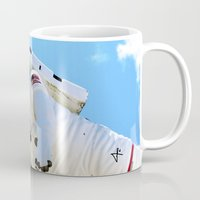 spaceman Mugs featuring Spaceman by Richwill Company