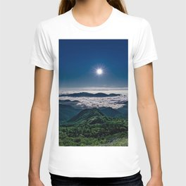 Moonlight Sonata Mountainous Clouds Photographic T-shirt