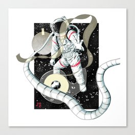 Hang The Paper Moon Canvas Print
