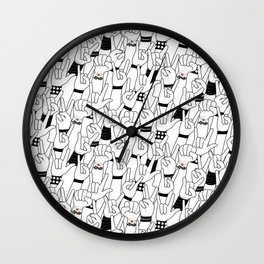 Rock and Roll: Concert Wall Clock