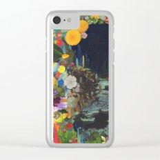 Cave Garden II Clear iPhone Case