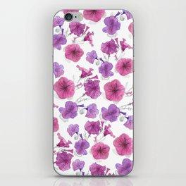 Petunias trailing iPhone Skin