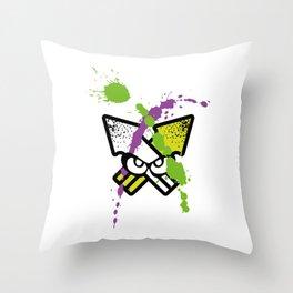 Splatoon - Turf Wars 2 Throw Pillow