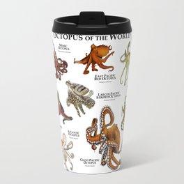Octopus of the World Travel Mug