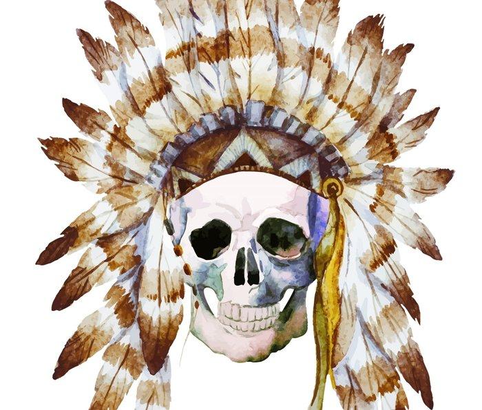 Skull 01 Metal Travel Mug
