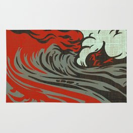Lava Meets The Sea Rug