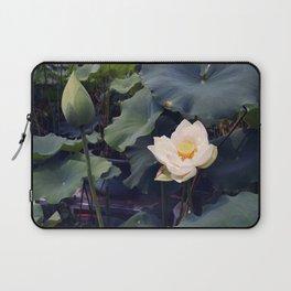 White Lotus Laptop Sleeve