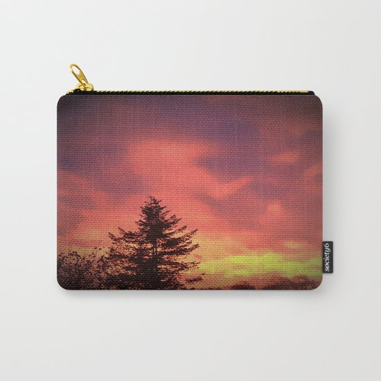 Beautiful Red Sky Carry-All Pouch