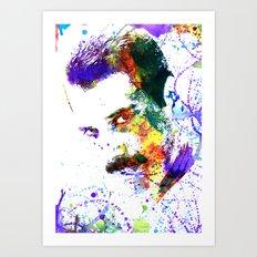 Freddy Mercury Art Print