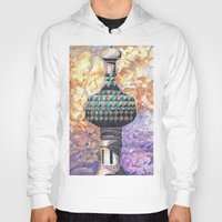 moscow Hoodies featuring Moscow Sun by HenryMangelsdorf