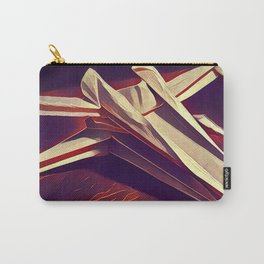 Space Fold - Warm Tones Carry-All Pouch