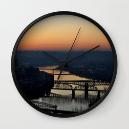 Sunrise from Mt. Washington Wall Clock