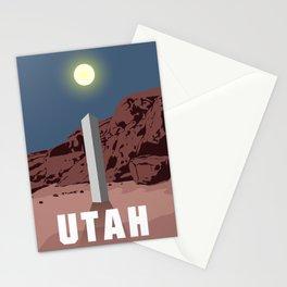 Utah Monolith Stationery Cards