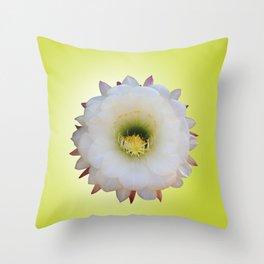 Night-Blooming Cereus Throw Pillow