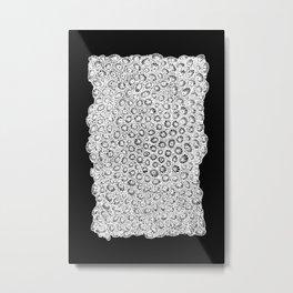 transverse coral pattern Metal Print