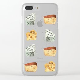 Cheese! Clear iPhone Case