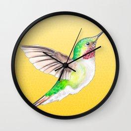 Hummer Yellow Wall Clock