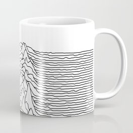 Unknown Pleasures - White Coffee Mug
