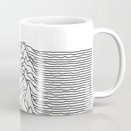 Unknown Pleasures - White Coffee Mug